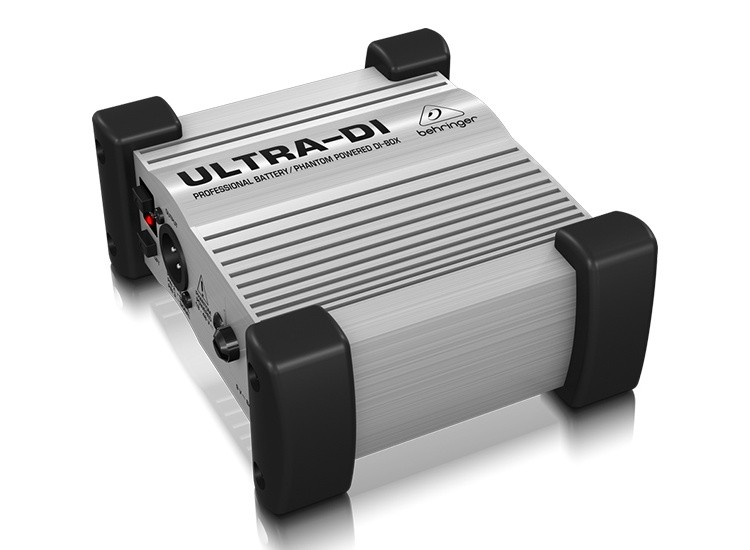 ULTRA-DI DI100 Professional Battery/Phantom Powered DI-Box